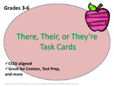There, They're, & Their Task Cards