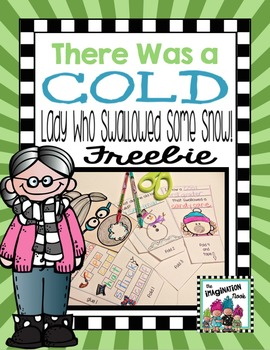 There Was A Cold Lady - Craftivity