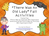 There Was An Old Lady Fall Activity Bundle