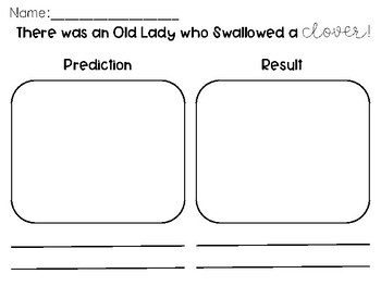 There Was An Old Lady... Prediction pages
