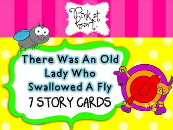 There Was An Old Lady... Story Cards