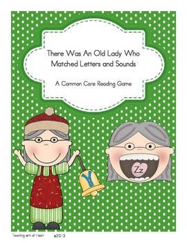 There Was An Old Lady Who Matched Letters and Sounds