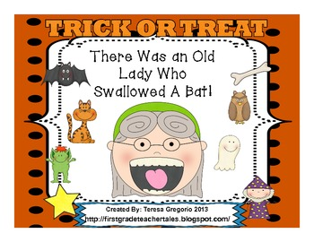 There Was An Old Lady Who Swallowed A Bat  Everything you need!