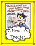 There Was An Old Lady Who Swallowed A Bat -- Halloween Reader's Theater