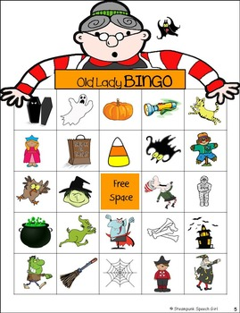 There Was An Old Lady Who Swallowed A Bat!: Halloween Time Speech Therapy
