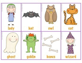 There Was An Old Lady Who Swallowed A Bat! Language Unit