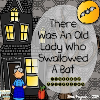 There Was An Old Lady Who Swallowed A Bat!
