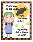 There Was An Old Lady Who Swallowed A Bat Literacy Center