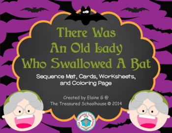 """There Was An Old Lady Who Swallowed A Bat"" Sequence Companion"