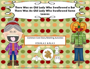 There Was An Old Lady Who Swallowed A Bat & Some Leaves