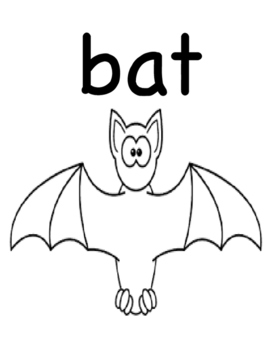 There Was An Old Lady Who Swallowed A Bat  Workbook (Autism, Speech)