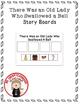 There Was An Old Lady Who Swallowed A Bell Story Boards