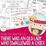 There Was An Old Lady Who Swallowed A Chick