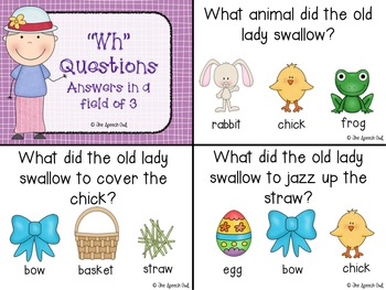 There Was An Old Lady Who Swallowed A Chick: A Book Companion for Language