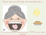 There Was An Old Lady Who Swallowed A Chick: An INTERACTIVE Activity