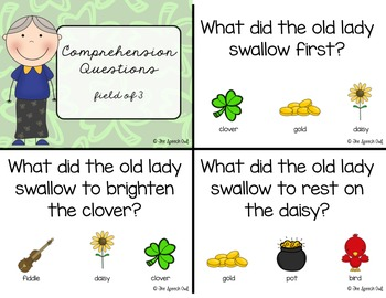 There Was An Old Lady Who Swallowed A Clover: A Book Companion For Language