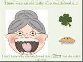There Was An Old Lady Who Swallowed A Clover: An INTERACTI