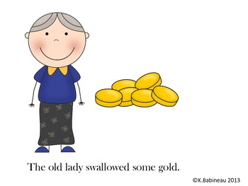 There Was An Old Lady Who Swallowed A Clover Read-Aloud Book Companion