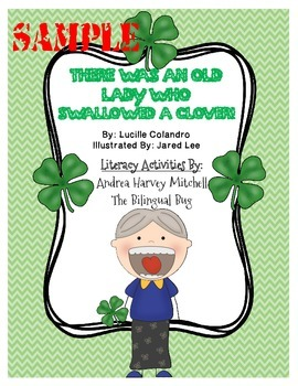 There Was An Old Lady Who Swallowed A Clover! FREE SAMPLE for St. Patrick's Day