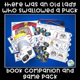 There Was An Old Lady Who Swallowed A Puck - Book Companio