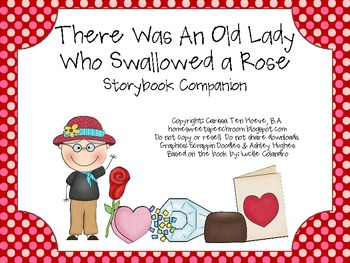 There Was An Old Lady Who Swallowed A Rose: Speech and Language Book Companion