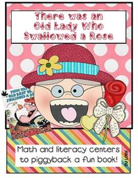 There Was An Old Lady Who Swallowed A Rose - Valentine's Day