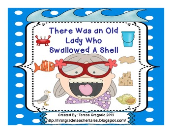There Was An Old Lady Who Swallowed A Shell  Everything you need!