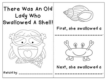 There Was An Old Lady Who Swallowed A Shell FREEBIE