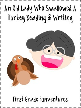 There Was An Old Lady Who Swallowed A Turkey Lessons and Activities