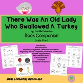 There Was An Old Lady Who Swallowed A Turkey Activities Book Companion