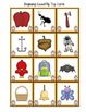There Was An Old Lady Who Swallowed Beginning Sounds Sorting Game Activity