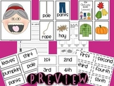 There Was An Old Lady Who Swallowed... Sequencing {BUNDLE PACK}