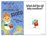 There Was An Old Lady Who Swallowed Some Books: Interactiv
