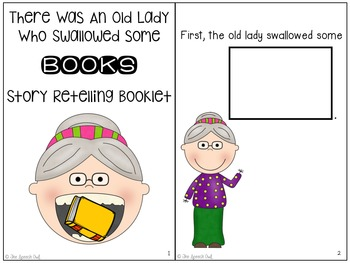 There Was An Old Lady Who Swallowed Some Books: Language Companion