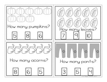 Halloween-Fall Math & Reading! There Was An Old Lady Who Swallowed Some Leaves