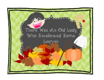 Halloween-Fall Math & Reading! There Was An Old Lady Who S