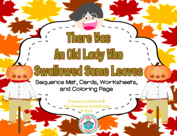 """There Was An Old Lady Who Swallowed Some Leaves"" Sequence"