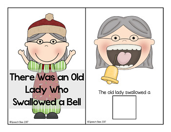 There Was An Old Lady Who Swallowed a Bell Adapted Book