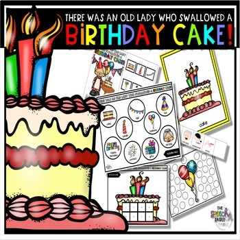 Magnificent There Was An Old Lady Who Swallowed A Birthday Cake Book Funny Birthday Cards Online Inifofree Goldxyz