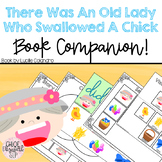 There Was An Old Lady Who Swallowed a Chick Book Companion!