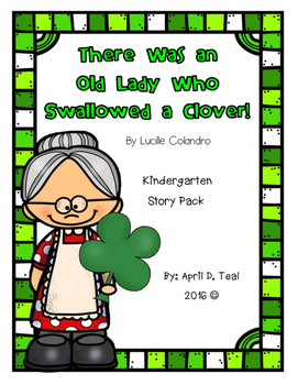 There Was An Old Lady Who Swallowed a Clover Story Pack