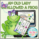 There Was An Old Lady Who Swallowed a Frog Literary Compan