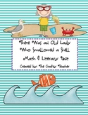 There Was An Old Lady Who Swallowed a Shell! Math & Litera