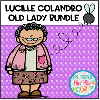 Author Study with Lucille Colandro  ... An Old Lady Bundle!