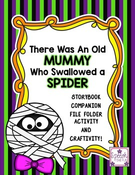There Was An Old Mummy Who Swallowed a Spider Companion