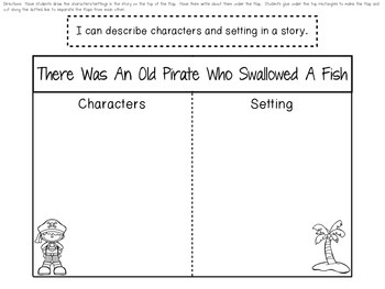 There Was An Old Pirate Who Swallowed A Fish (Literature Study Printables)