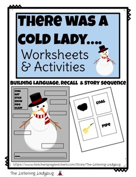 There Was a Cold Lady-Sequencing, Vocabulary and Labeling