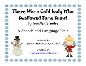 There Was a Cold Lady Who Swallowed Some Snow Companion Pack with Icons