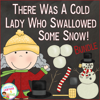 There Was a Cold Lady Who Swallowed Some Snow! Set