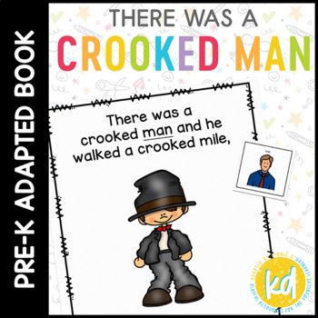 There Was a Crooked Man: Adapted Book for Students with Autism & Special Needs